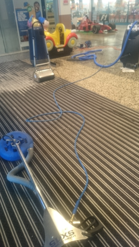 Mat cleaning at Arndale Centre Morecambe