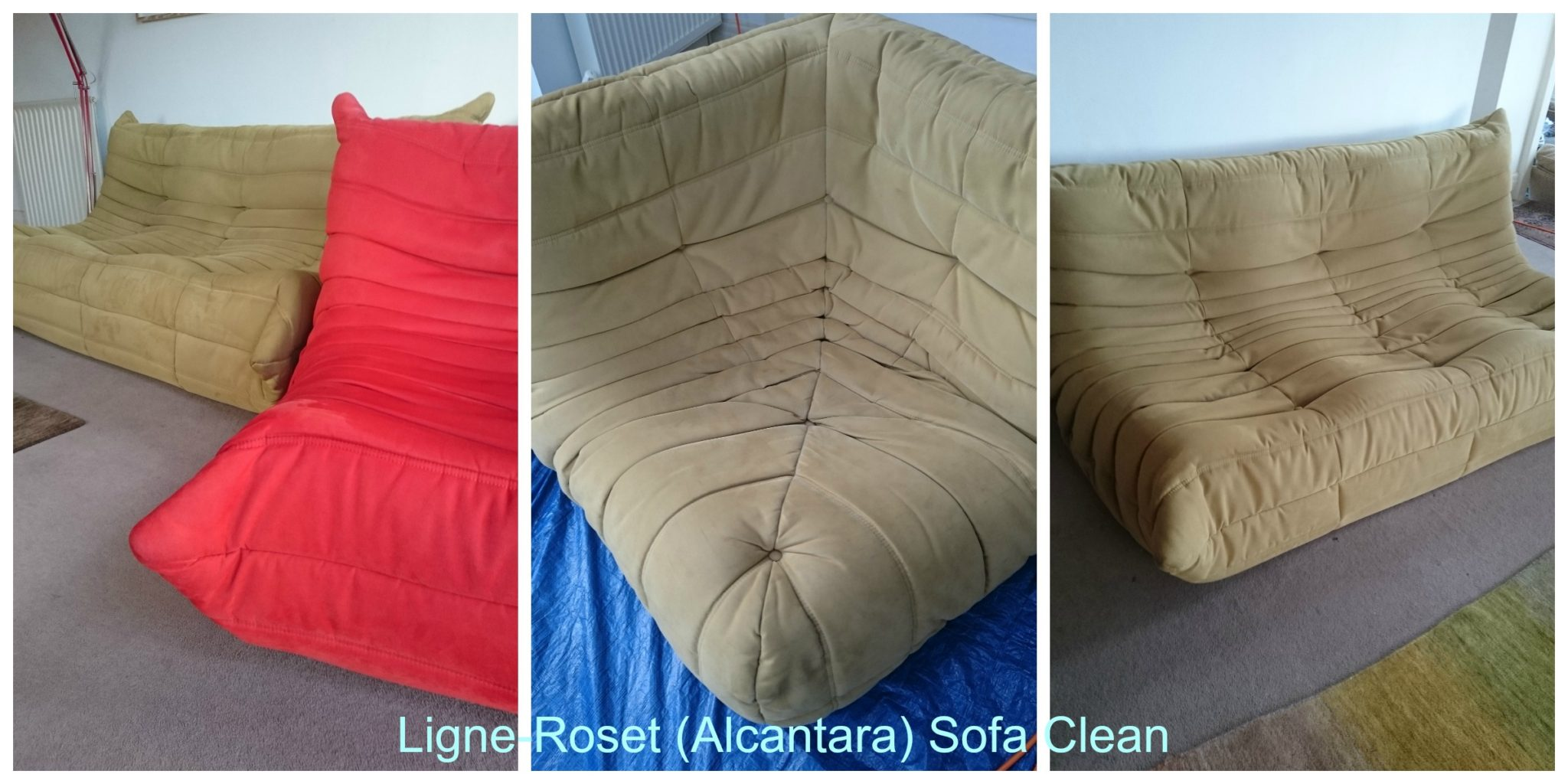 Alcantara Sofa Cleaning Refil Sofa