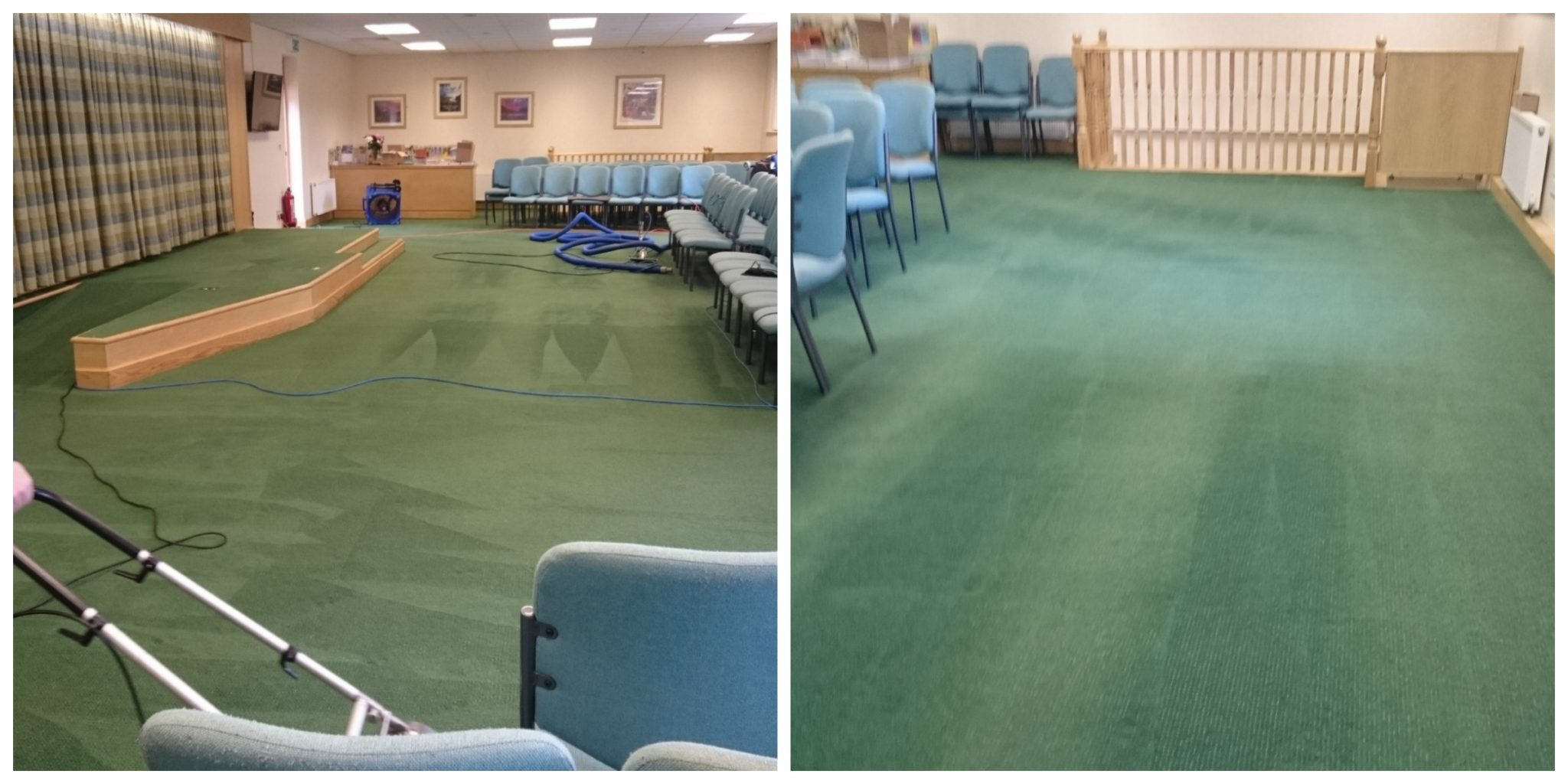 Kingdom Hall Carpet Clean